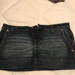 Jean skirt size 9